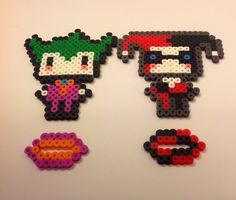 Chibi Joker / Harley Quinn Batman: The Animated by YattaCreations