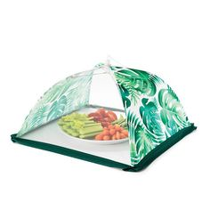 """Bug off! This adorable set of 2 tents keeps your food safe and collapses for easy storage! Collapse for easy storage, metal/polyester, wipe clean, open: 14.25"""" x 9.5"""". $9.99 Buy Avon Online https://adavis0493.avonrepresentative.com/ #Avon #BBQ"""