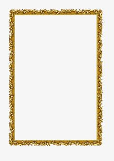 Frame Border Design, Boarder Designs, Photo Frame Design, Box Templates Printable Free, Printable Designs, Free Frames, Borders And Frames, Border Pattern, Gold Pattern