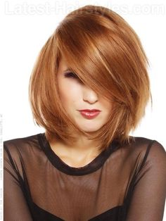 New Hair Copper Bob Strawberry Blonde Ideas Short Choppy Haircuts, Short Bob Hairstyles, Latest Hairstyles, Choppy Bobs, Medium Haircuts, Spring Hairstyles, Bob Haircuts, Layered Haircuts, Formal Hairstyles