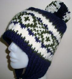 Knitting Adult by earflaphats on Etsy, $35.00