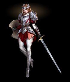 ArtStation - Aristocratic Knights, Ryan Gllan