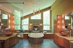 Bathroom Trends for 2014: Serenity, Safety and Style