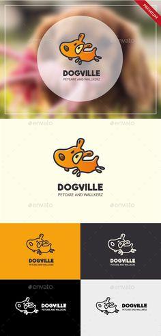 Dogville Dog Logo - Animals Logo Templates
