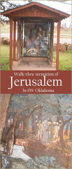 Merveilleux The Holy City Of Wichita   Jerusalem In Oklahoma