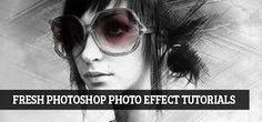 15 Fresh Photoshop Photo Effect Tutorials