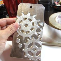 tag métal engrenage