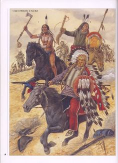 1:Gall.2:White Elk.3:Fool Bull.