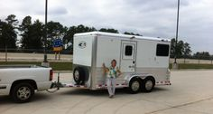 Thank you Cyndi Craig from Alvin, TX on the purchase of this 2 Horse Straight Load BP from Jake Ramsey of Gulf Coast 4-Star Trailer Sales!!  877.543.0733  www.gc4star.com