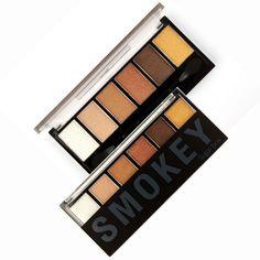 6 Colors Eyeshadow Palette glamorous smoky eye Shadow by Sugar Box