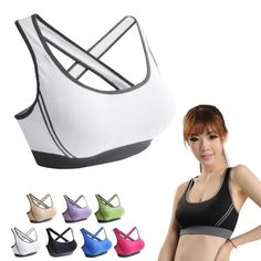 Cheap underwear bra set, Buy Quality bra brand directly from China bra wash Suppliers: Women Lady Racerback Crop Top Stretch Vest Outdoor Sports N | Shop this product here: spree.to/aa63 | Shop all of our products at http://spreesy.com/Diva_styles    | Pinterest selling powered by Spreesy.com