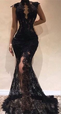 Sexy Black Lace Evening Dresses 2019 Mermaid Cap Sleeve Prom Gowns, Shop plus-sized prom dresses for curvy figures and plus-size party dresses. Ball gowns for prom in plus sizes and short plus-sized prom dresses for Black Evening Dresses, Black Wedding Dresses, Mermaid Evening Dresses, Wedding Party Dresses, Elegant Dresses, Sexy Dresses, Summer Dresses, Formal Dresses, Pretty Dresses