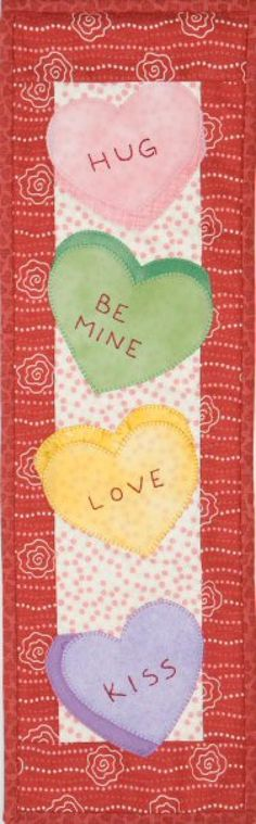 Original Design from Patch Abilities, Inc. MM302 Candy Hearts