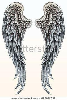 angel wing tattoos google search angel wings pinte