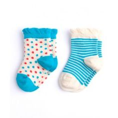 PACT : Girls' Pin Dot 2-Pack - PACT even has cute little baby socks!