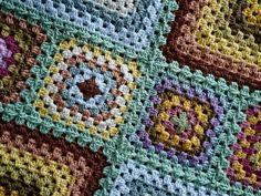 Progress shot of my Granny Square Moorland Blanket... just using up the left over yarn from the #moorlandblanketcal #crochet #crochetblanket #crochetaddict #crochetersofinstagram #grannysquaresrock #grannysquareblanket #grannysquare #crochetbypeekaboo #lovetocrochet #makersgottamake #stylecraft #stylecraftyarn #crochetgirlgang #bhooked #letskeepspreadingthegrannysquarelove