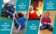 Holiday Tips to Stay Safe and Reduce Hazards - Burns,Falls,Asphyxiation, and to overcome Car Accidents.