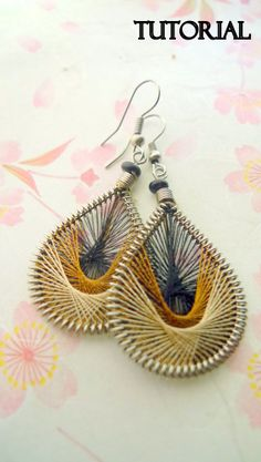#dualshine thread earrings# thread earrings dualshine#dualshine.com