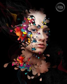 woman face creative photo manipulation. Follow us www.pinterest.com/webneel