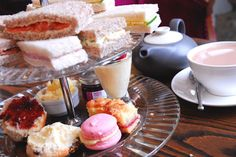 Afternoon Tea at Chatsworth House, Derbyshire. Photo courtesy of www.chatsworth.org