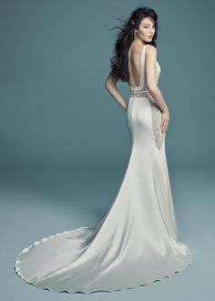 Another look at the beautiful Maggie Sottero Fabienne Gorgeous Wedding Dress, Dream Wedding Dresses, Bridal Dresses, Allure Bridesmaid, Sottero And Midgley Wedding Dresses, Designer Wedding Gowns, Allure Bridal, Mod Wedding, Mask Girl