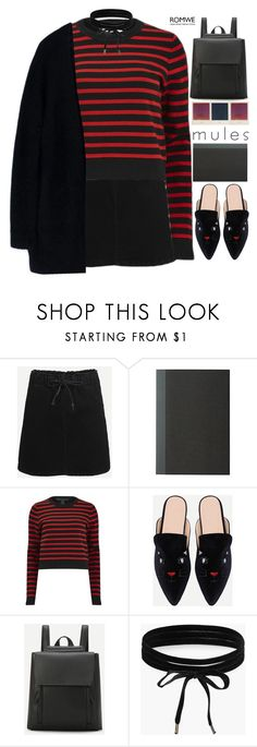 """""""vertigo"""" by scarlett-morwenna ❤ liked on Polyvore featuring Marc by Marc Jacobs, Boohoo, Acne Studios, vintage, mules and slipemon"""