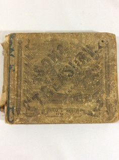 Antique 1879 Song Treasury Book Collection for Sunday School Prayer Meetings