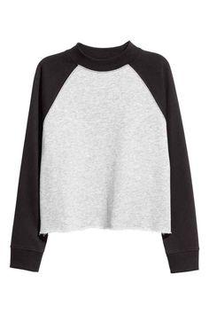 Cropped sweatshirt   H&M