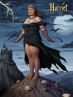 Les Toil's Big Beautiful Pinup Gallery | Harriet