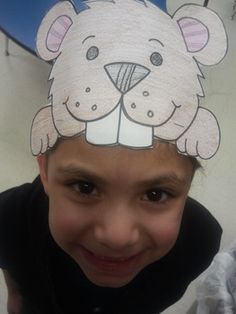 Will your Groundhogs see their shadows? 2 pattern Gorund hog faces for the price of 1.  Celebrate Groundhog Day with this simple to make Groundhog Day hat. Have the children act out whether or not, they too will get to see their shadows on Feb. 2.