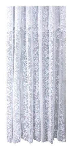 "Pretty!!! Romance White Lace Shower Curtain, 72""x72"" - casa.com"