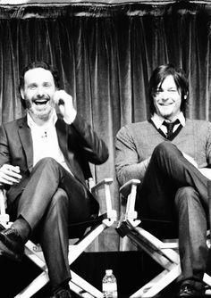 Andrew Lincoln and Norman Reedus.