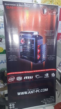 Ant PC at IGX Expo in Mumbai on the 14th & 15th November