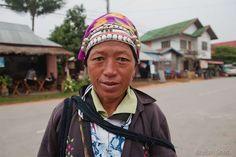 Portrait de femmes akhas à Luang Namtha