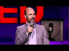 """Comedian Maz Jobrani speaking at TED. A founding member of the Axis of Evil Comedy Tour, standup comic Maz Jobrani riffs on the challenges and conflicts of being Iranian-American -- """"like, part of me thinks I should have a nuclear program; the other part thinks I can't be trusted ..."""""""