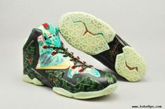 "Cheap Nike LeBron 11 ""MVP"" by Lancer Customs Mens Shoes Nike LeBron 11"