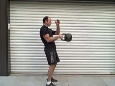 The kettlebell snatch form- saving your hand, back and shoulder