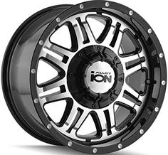 Ion Alloy Style 186 Black Wheel with Machined Face 17x86x135mm ** More info could be found at the image url. (This is an affiliate link) #CarSportRim17
