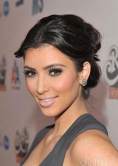 Trendy Wedding Makeup For Brunettes Kim Kardashian Make Up Ideas Wedding Makeup For Brunettes, Wedding Hair And Makeup, Bridal Makeup, Cheek Makeup, Hair Makeup, Eye Makeup, Makeup Geek, Prom Makeup, Kim Kardashian Peinado