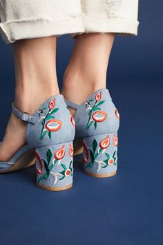 Shop the Chelsea Crew Embroidered Frenchie Heels and more Anthropologie at Anthropologie today. Read customer reviews, discover product details and more.