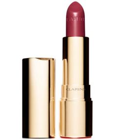 The only words on your lips! Joli Rouge's creamy, moisture-rich formula delivers intense colour and a delicate satin sheen to lips--with softening, pure plant extracts that treat skin beautifully. Soo