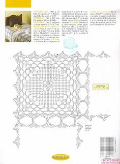 Crochet Knitting Handicraft: bedspreads