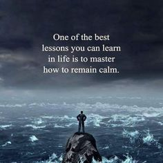 One of the best lessons you can learn in life is to master how to remain calm. @SydesJokes https://blog.crowdifyclub.com/699/show