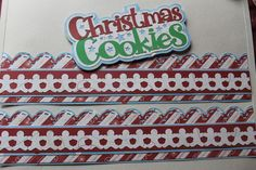 CM Candy Cane Paper Pack. Title from the Silhouette library, CM border Maker…