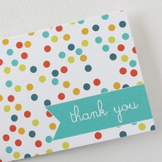 Thank You Dots by christinawilliams