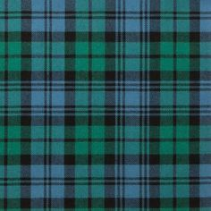 Campbell Ancient Lightweight Tartan by the meter – Tartan Shop