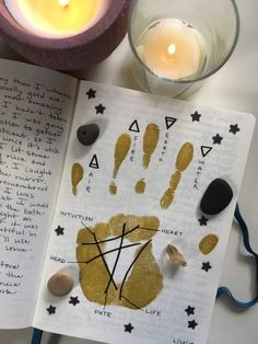 """Laurel's Guide to Grimoires Laurel's Guide to Grimoires,Wicca thecollegewitch: """"A peek into my book of shadows. Mine is a combination of personal journaling, witchcraft, and art! Wiccan Spell Book, Witch Spell, Wiccan Spells, Magick, Wiccan Symbols, Magic Spells, Real Spells, Wiccan Art, Wiccan Decor"""