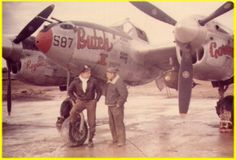 P-38's of the 367th Fighter Group