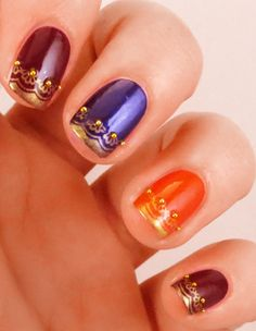 decorate your hands with teej special nail art designs that speak of monsoon and festivities