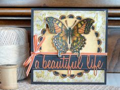 Sizzix Inspiration | A Beautiful Life Card by Audrey Pettit